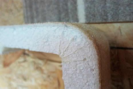 Аморит теплый (на основе пенополистирола или пенопласта)