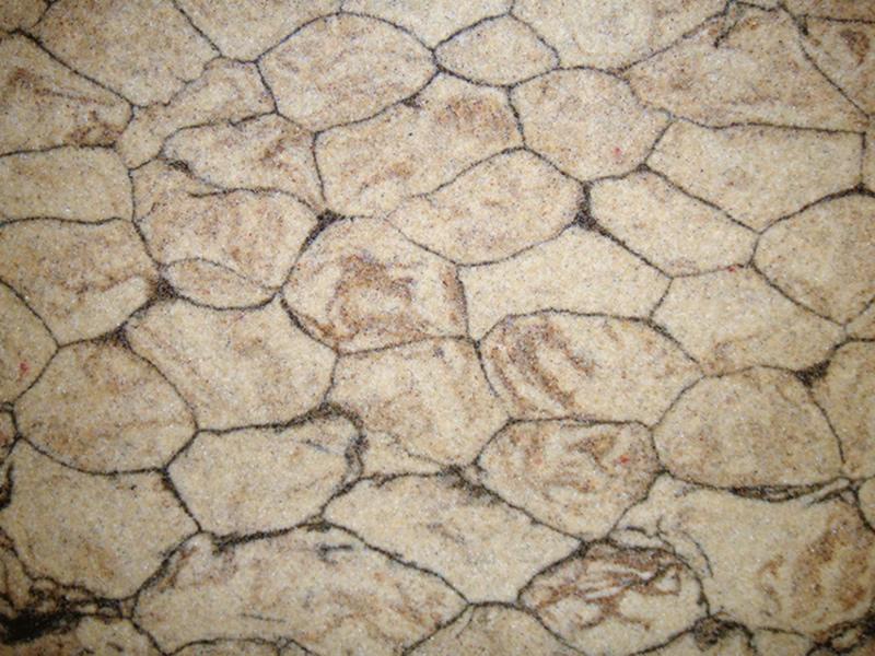 Аморит камень бесшовная отделка пола
