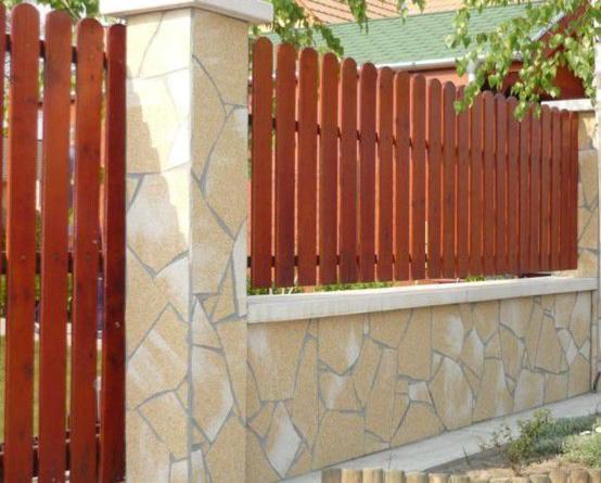 Аморит забор